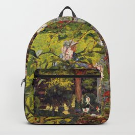 Edouard Vuillard - Garden Of Vaucresson - Digital Remastered Edition Backpack