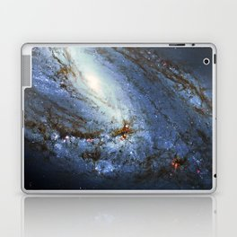 Spiral Galaxy M66 Messier 66 Laptop & iPad Skin
