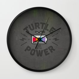 Turtle Power Wall Clock