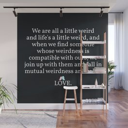 006 - OWLY quote Wall Mural