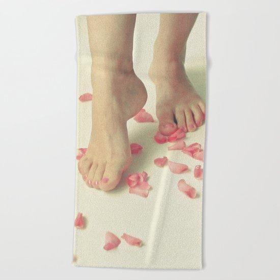 Tiptoe Beach Towel