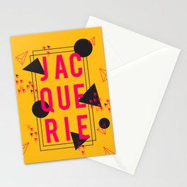 Jacquerie Gold Stationery Cards