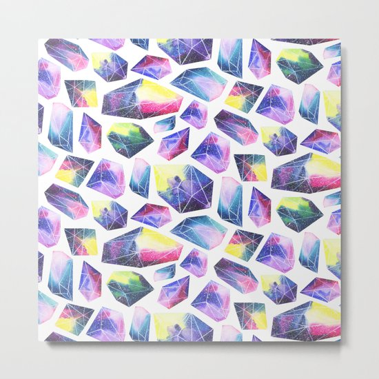 Space crystals Metal Print