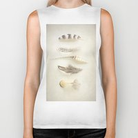 feather Biker Tanks featuring Feather by Pure Nature Photos