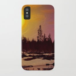 Day - From Day And Night Painting iPhone Case
