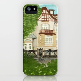 Villa iPhone Case
