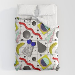 Memphis Milano X Harlem Shake Style Comforters