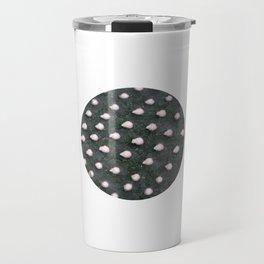 Plant Dots Abstract Photo Travel Mug