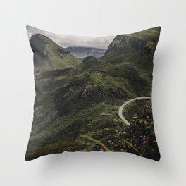 Scotland | Isle of Skye | Art print | Fine art | Travel photography | Wanderlust  Throw Pillow