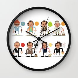 Murrays Complete Set Wall Clock