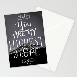 Highest Hope Stationery Cards