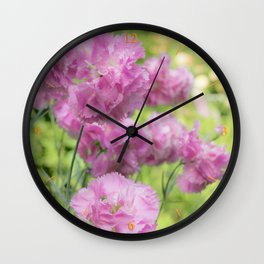 Can't Get Enough of Pinks! Wall Clock