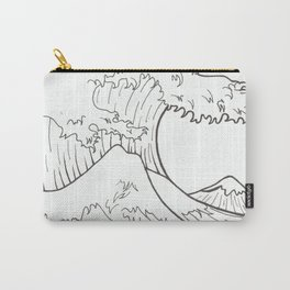 The wave of Kanagawa Carry-All Pouch