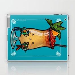 Food Series - Trinidad Cobbler (blue) Laptop & iPad Skin