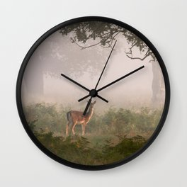 Richmond Park, September 2014 Wall Clock