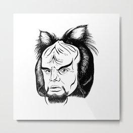 Woorf Metal Print