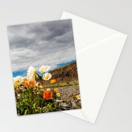 Icelandic Poppies III Stationery Cards