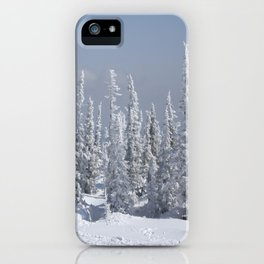 Winter season iPhone Case