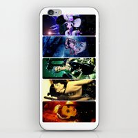pride iPhone & iPod Skins featuring Pride by Danielle Tanimura