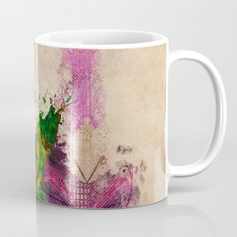 guitars 3 art Coffee Mug