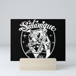 Satanique Mini Art Print
