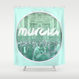 Murcia is color Shower Curtain