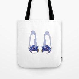 Hydrangea Shoes Tote Bag