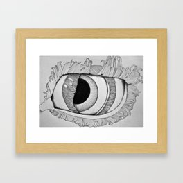 Eye in Eye Framed Art Print