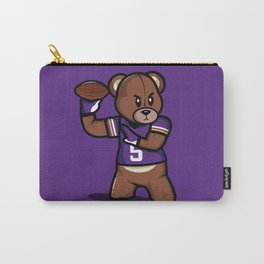 The Victrs - Teddy Football Carry-All Pouch