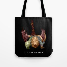 C is for Chimera Tote Bag