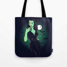 Vampira Tote Bag