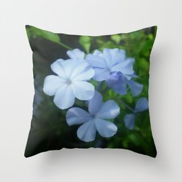 Blue is for Beautiful  Throw Pillow