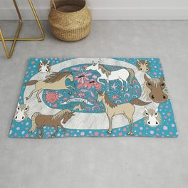 All the Pretty Horses Rug