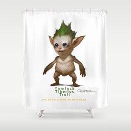 YT Troll - Revelations of Oriceran (C) Shower Curtain