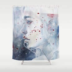 small piece 48 Shower Curtain