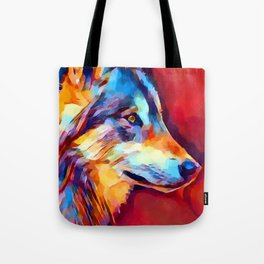 Wolf Portrait 2 Tote Bag