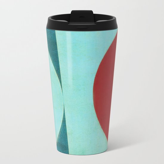 Waxing Gibbous Metal Travel Mug