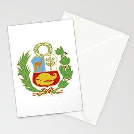Peru Shield Stationery Cards
