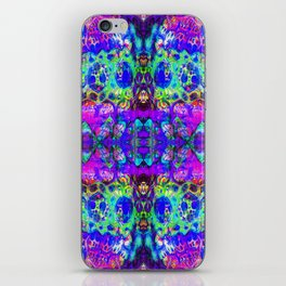 blacklight madness iPhone Skin