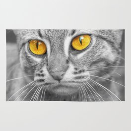 RUSTY SPOTTED CAT Rug