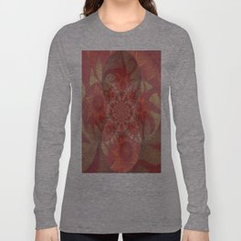 Radiantly Red- Revamped Long Sleeve T-shirt