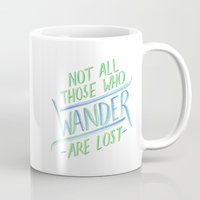 wander Mugs featuring Wander by IndigoEleven