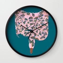 Intestinal Terrarium Wall Clock