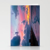 calendars Stationery Cards featuring Huntington Beach Sunrise 1/31/14 by John Minar Fine Art Photography