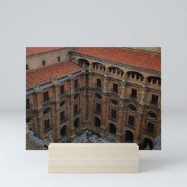 Salamanca desde arriba Mini Art Print