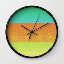 Shades of color Wall Clock