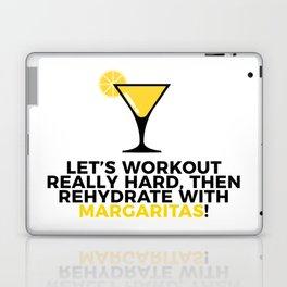 Workout & Rehydrate With Margaritas Laptop & iPad Skin