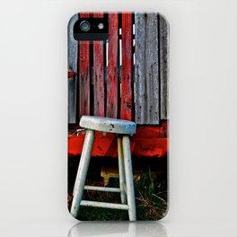 Milk Stool iPhone Case