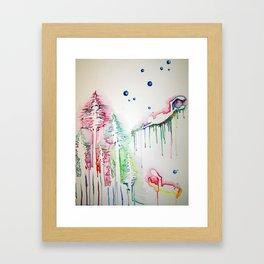 Sea Forrest Framed Art Print