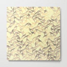 Wavy mosaic art Metal Print